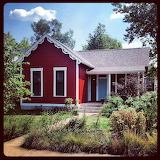 Red little house