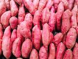 Rotate the sweet potatoes