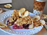Apple blueberry tart