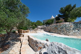 beautiful villa garden and pool puglia trullo italy