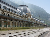 railway station Canfranc, Spain