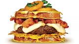 ^ Burger loaded