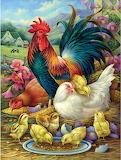 Chicken Yard~ Oleg Gavrilov