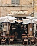 shop trattoria Rome Italy