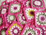 Granny Squares-Pretty in Pink