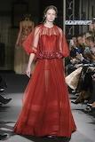 Long Red Shiny Dress