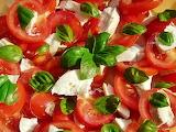 #Tomato Mozzarella Basil Salad