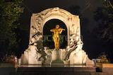 Johann Strauss statue ,Stadtpark, Vienna