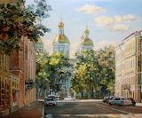 Saint Peterburg Glinka street