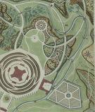 Plans de jardins par Pierre Panseron Estampe 398 (5)