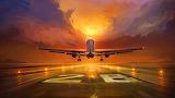 Orange runway