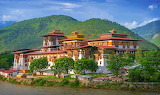 Punakha Dzong is the administrative centre of Punakha District,