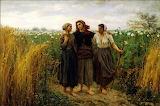 Returning From The Fields. Jules Breton