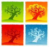 4 trees 29927679
