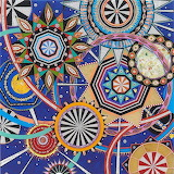 Fred Tomaselli collage