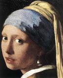 Johannes Vermeer - Girl with a Pearl Earring (detail) - WGA24668