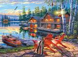 Loon Lake by Darrell Bush