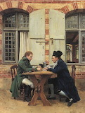 Ernest Meissonier The Card Players