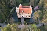 Wojnowice Castle on the water Poland