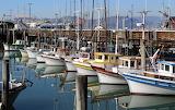Fisherman's Wharf Boats San Francisco California USA