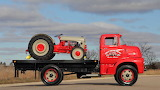 1956 Ford C600 & 2N Tractor
