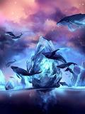 Ballet de dauphins-fantaisie