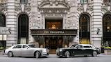 Rolls Royce at the Peninsula Hotel