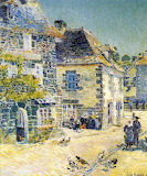 Pont Aven Noon Day by Childe Hassam 1897