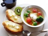 Soup vegetables oil