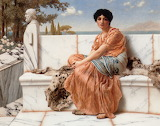 John William Godward - In the Days of Sappho