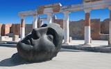 Mask, ruins