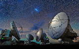 Atacama Large Millimeter Array (ALMA). Atacama Desert. Chile
