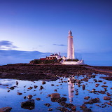 St. Mary's Lighthouse, United Kingdom...