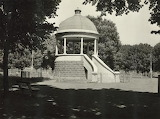 Band Rotunda, Edinburgh Gardens, North Fitzroy 1940