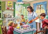1940s Kitchen - Steve Crisp