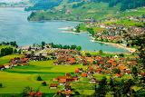 ^ On the way from Luzern to Interlaken, Switzerland