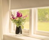 Bouquet Im Window