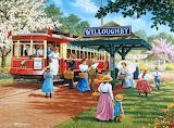Trolley Picnic by John Sloane