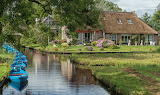 By the canal in Giethoorn, Netherlands