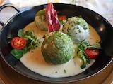 healthy food-spinach dumplings