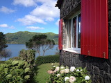 Lake Cottage. Sete Cidades. Sao Miguel Island