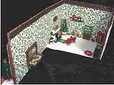 Inside Gingerbread Christmas House