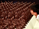 Chocolate army from Shanghai