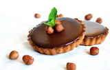 Tart-dessert-sweet-chocolate-hazelnut