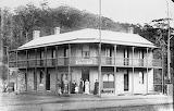 Union Hotel Mann Street 1887 Courtesy Central Coast Library Serv