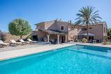 Luxury rustic stone villa and pool in Mallorca