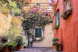 Courtyard in Italy
