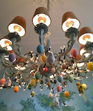 Easter chandelier