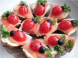 #Lady Bug Snacks