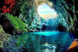 Cave in greece
